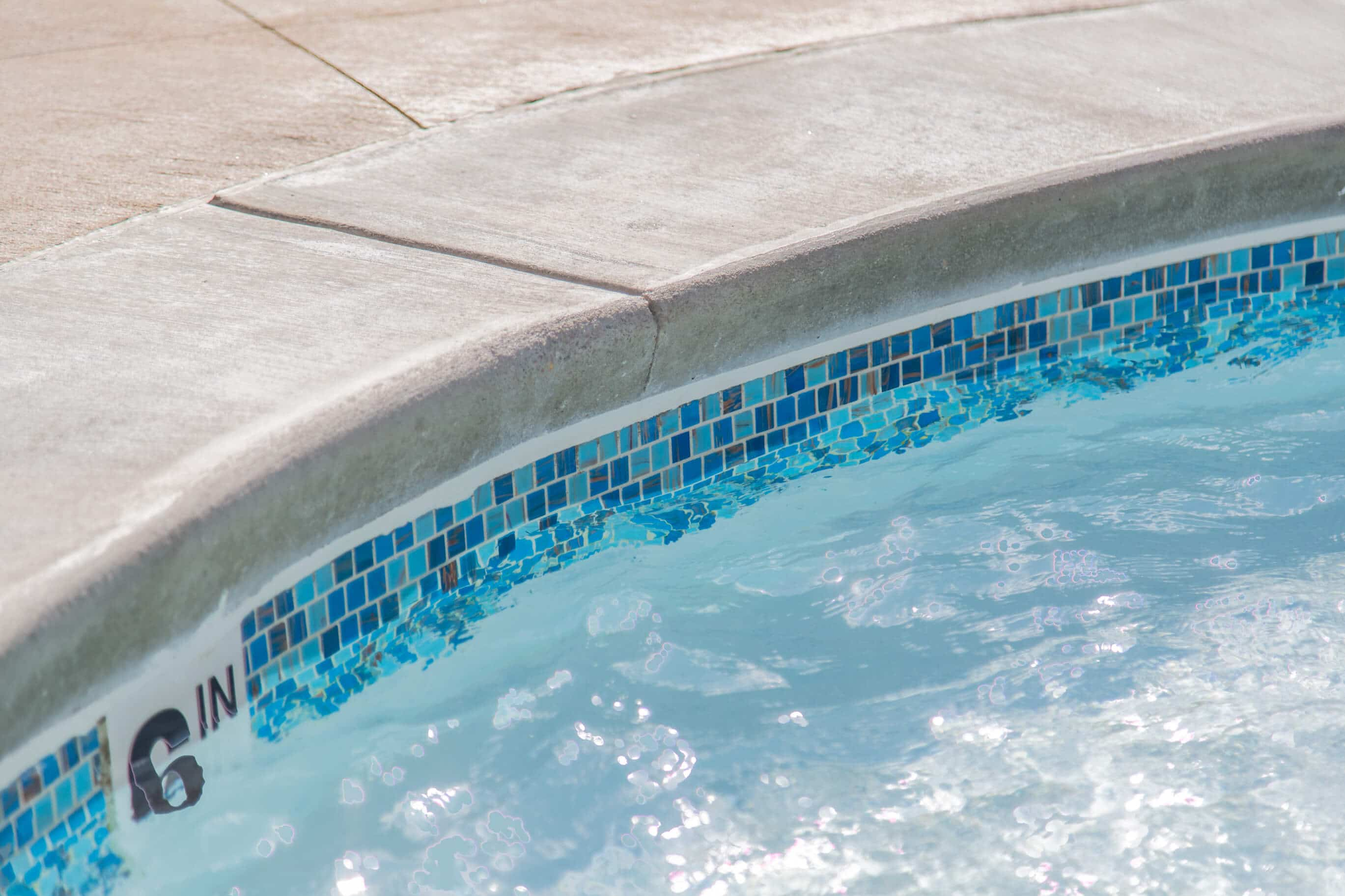 New Swimming Pool Coping, Stones, and Bricks - Mid-America ...