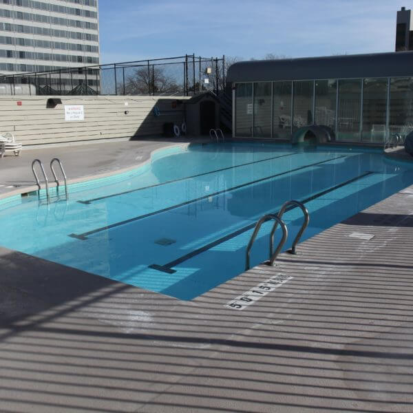Sheraton Crown Center Swimming Pool Resurfaced by Mid-America Pool Renovation in Kansas City